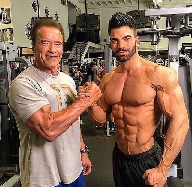 Arnold and Sergi Constance Fitness