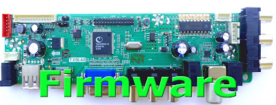 T.V56.A8 USB Universal LED TV Board firmware Download 1024X768,1280X1024,1366X768,1400X1050,1440X900,1600X900,1680X1050,1920X1080,1920X1200,1600X1200 (Flash file)