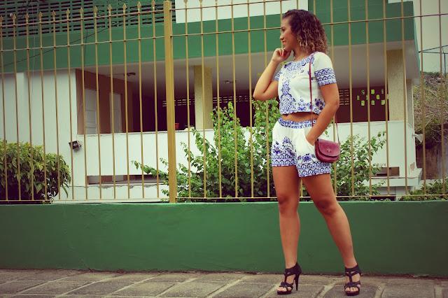 Conjunto azulejo portugues