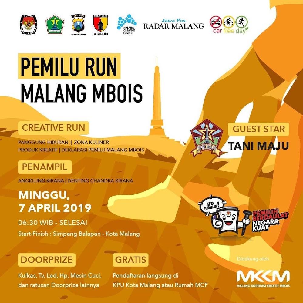 Pemilu Run - Malang Mbois • 2019