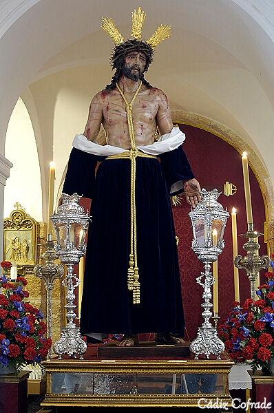 Horarios e itinerarios del Vía Crucis General de Hermandades de Cádiz de 2019