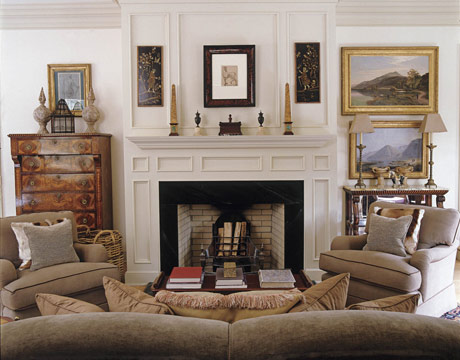 LUSTER INTERIORS: Admiring the view