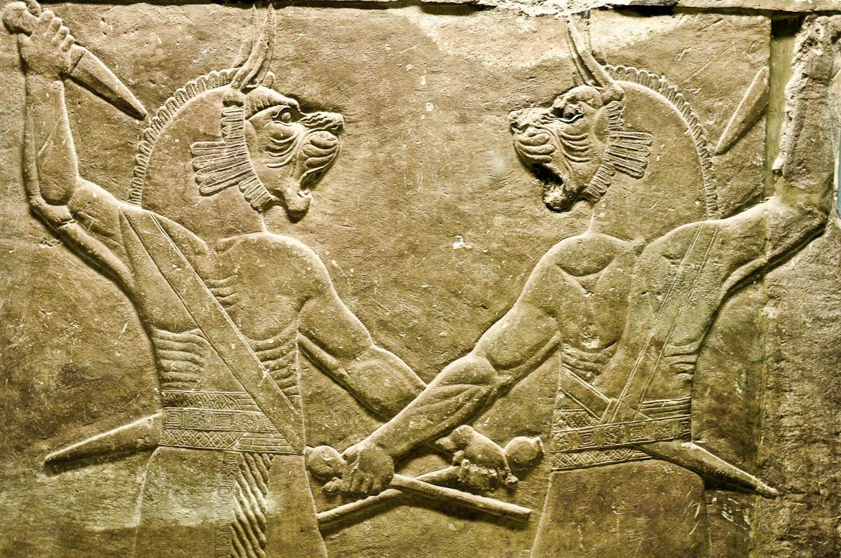 Stone artifacts, Assyria, The British Museum, London, UK