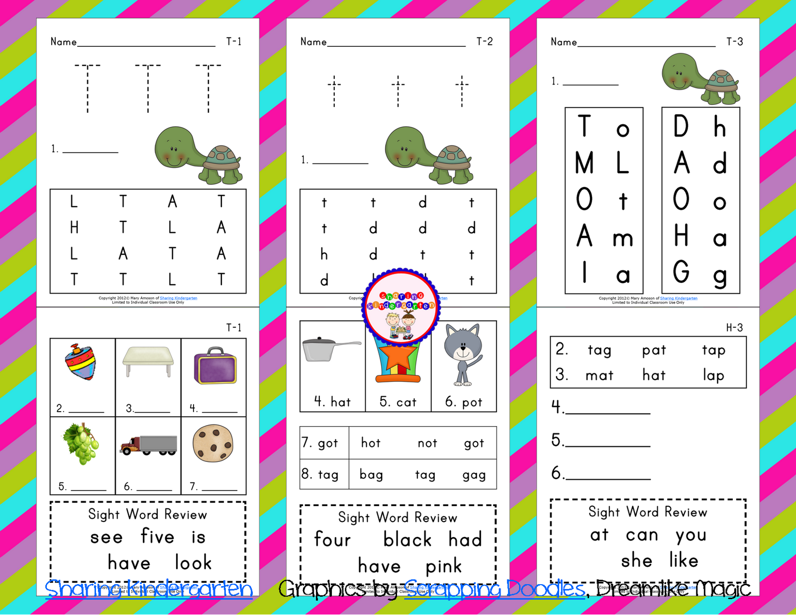 Sharing Worksheets For Kindergarten