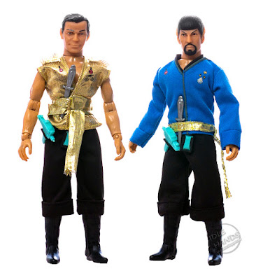 SDCC 2018 MEGO Target Exclusive Action Figures Star Trek Mirror Mirror Kirk and Spock 2 pack 001