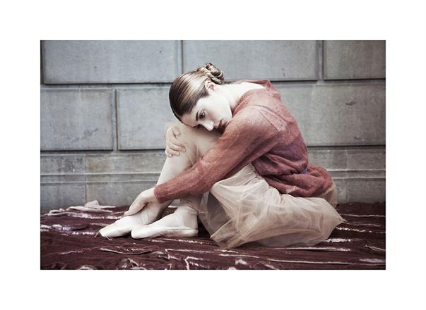 Ballerina in Erika Cavallini for Vogue Italy seen on Hello Lovely