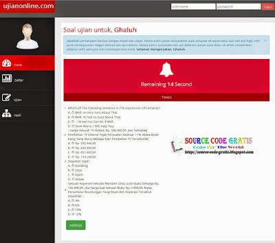 Download Gratis Source Code PHP Aplikasi Ujian Online Menggunakan Code Igniter (CI)