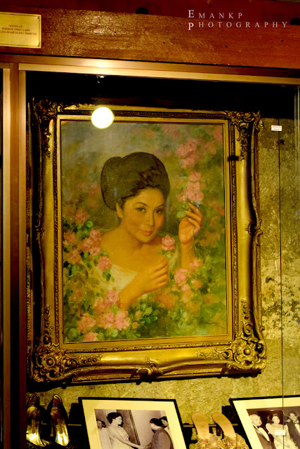 IMELDIFIC: An Imelda portrait is displayed prominently on a wall