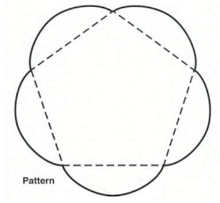 Click on the picture for the pattern. You need two sheets