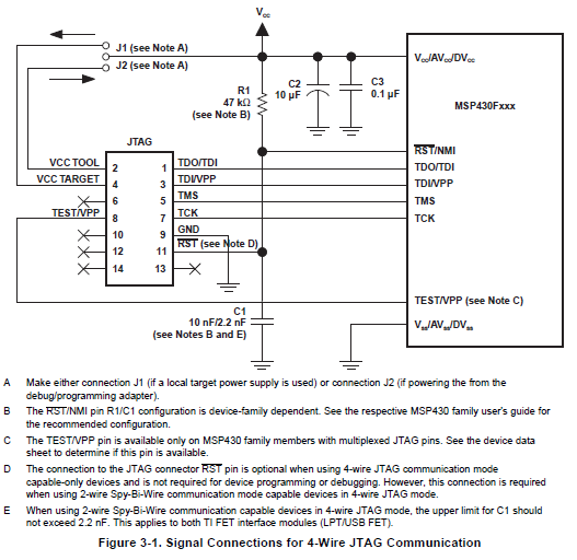 4 WireJtag 4 wirejtag png Basic Electrical Wiring Diagrams at webbmarketing.co