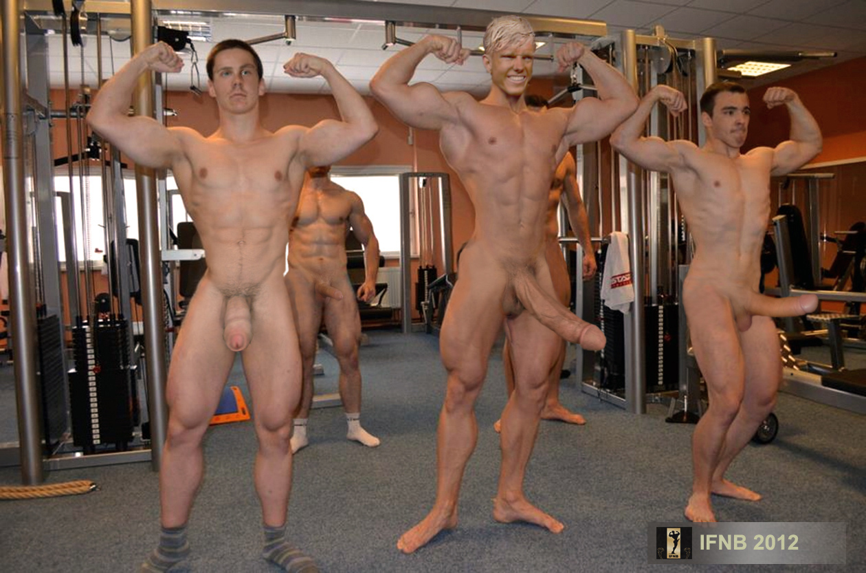 Male naked group-9905