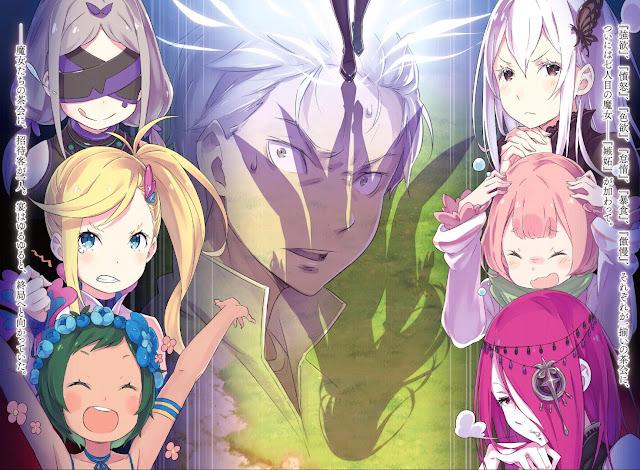 Ilustraciones del Volumen 12 de Re:Zero kara Hajimeru Isekai Seikatsu