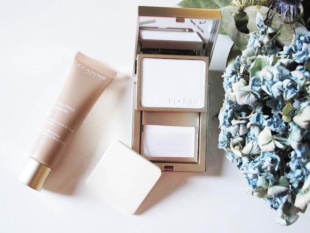base Teint Pores & Matité y el kit Pores & Matité Clarins