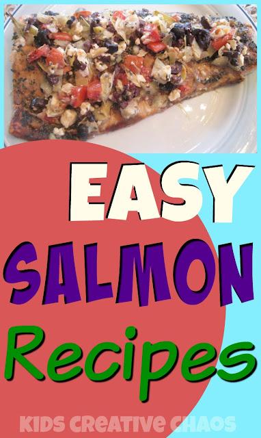 Easy Salmon Recipes: Baked Mediterranean Salmon