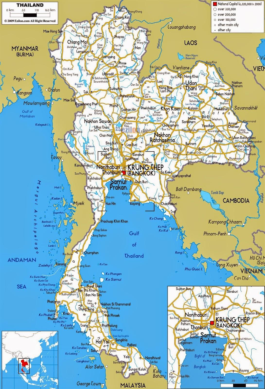 Romania Live Bangkok Live Webcam Harta Rutiera Thailanda