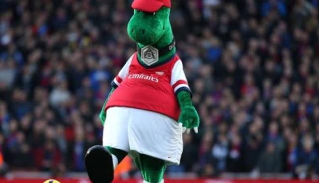 Cerita di Balik Lahirnya Gunnersaurus, Maskot Arsenal