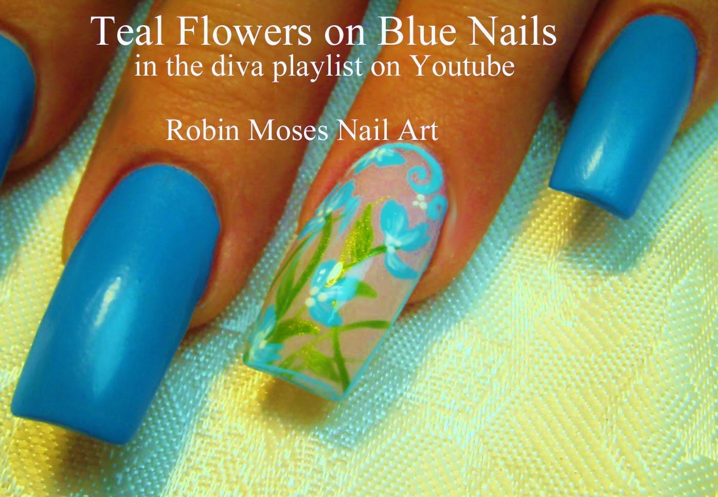 Nail Art by Robin Moses: June 2012