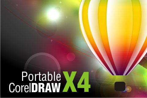 coreldraw portable x4