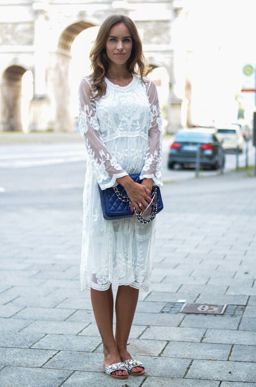 kristjaana mere chicwish lace dress summer style