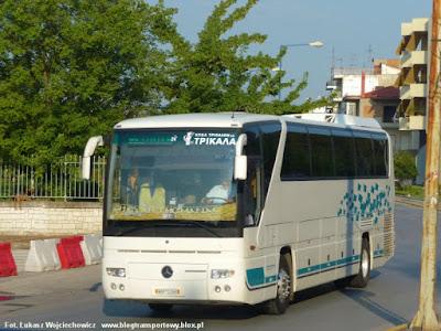 Mercedes O350 Tourismo z KTEL Trikala