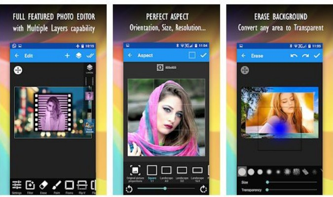 Alternatif Aplikasi Photoshop di Android - Multi-Layer - Photo Editor