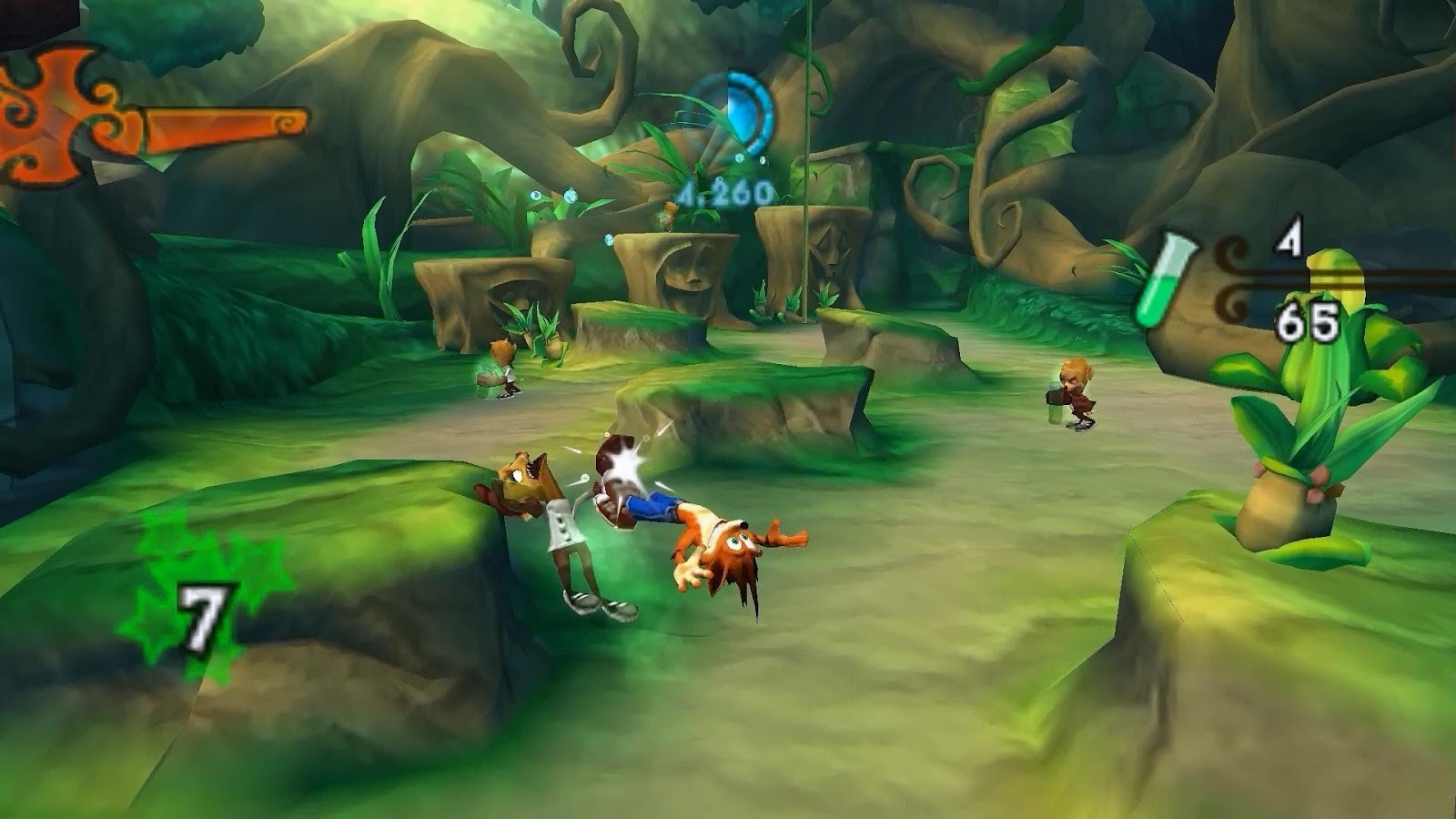 Crash Of The Titans ROM Download for NDS | Gamulator
