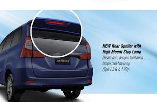 Stop Lamp Grand New Veloz Perbedaan All Kijang Innova Toyota Arina Gresik: Avanza Dan