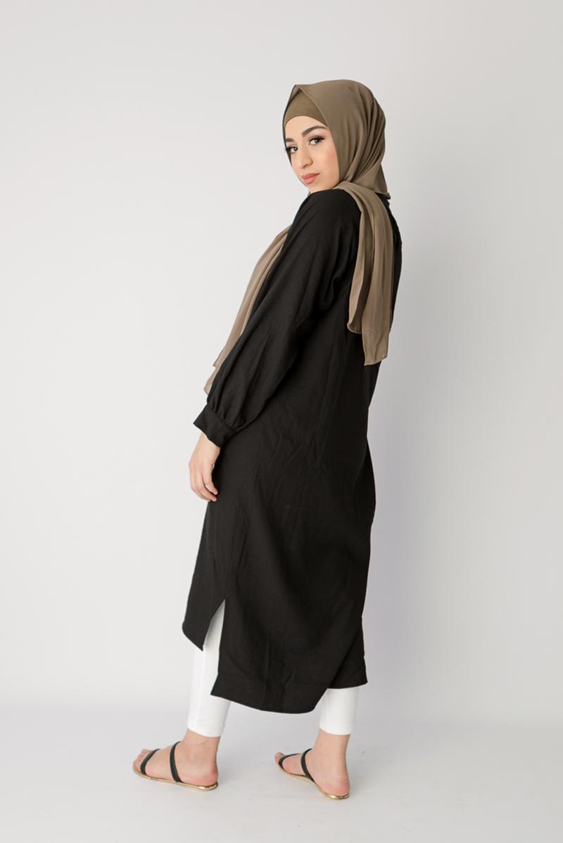 Baju lebaran trend terbaru maxi dress muslim terbaru