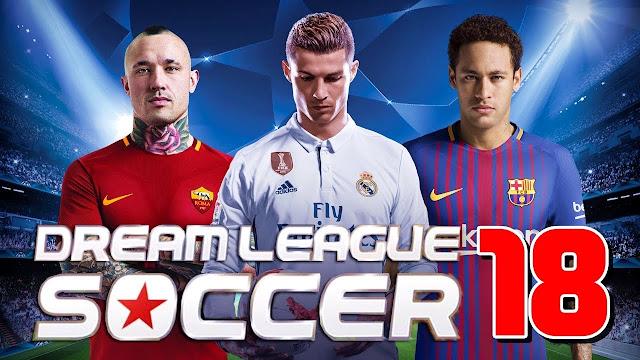 تحميل لعبة كرة القدم للموبايل الاندرويد برابط مباشر download game dream league soccer apk