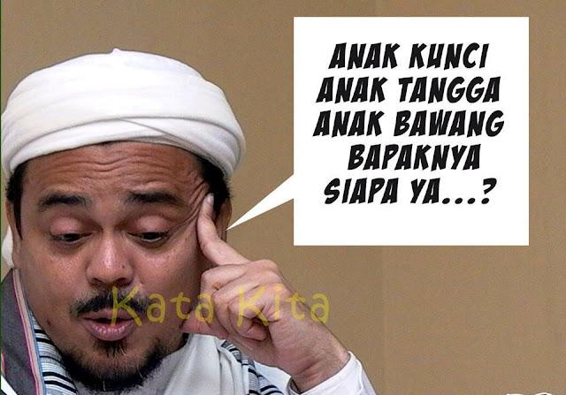 PMKRI: Kalau Habib Rizieq Tak Paham, Jangan Bicara Soal Yesus