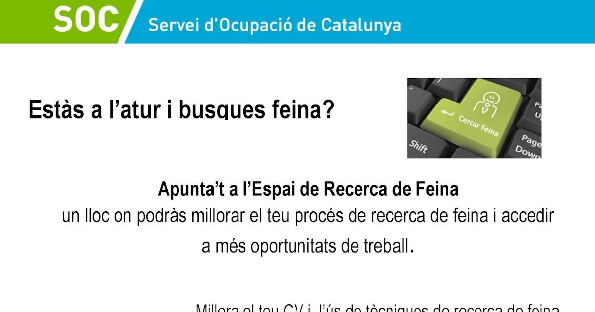 Clica i apr n soc servei d 39 ocupaci de catalunya for Soc oficina de treball