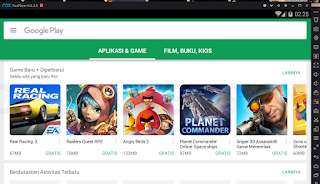 Cara Bermaina Game Android di PC Atau Laptop