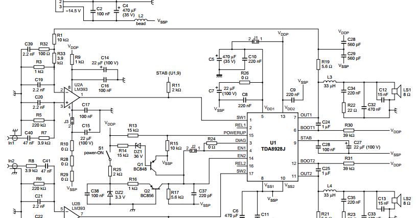 High Efficiency Class-D Audio Power Amplifier IC 2x150W TDA8950TH HSOP-24