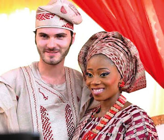 Tosyn Bucknor with husband
