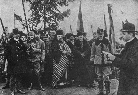 román parlament, többnyelvűség, Gyulafehérvári Nyilatkozat, USR, Mihai Goţiu