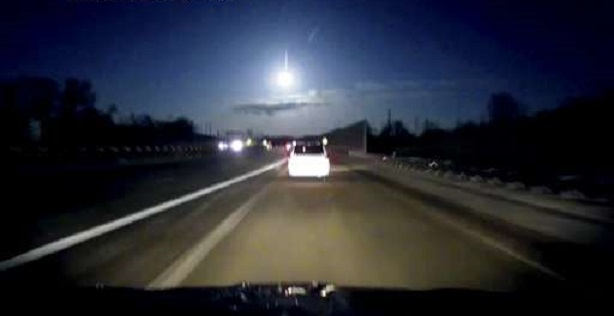 Meteor seen over Michigan on January 16/17, 2018. Credit: Zack Lawler/WWMT via AP