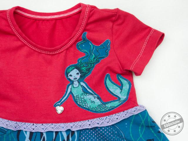 EGGsclusiv - Nähen mit Frau E.: Kleine Meerjungfrau - Lotti\'s ...
