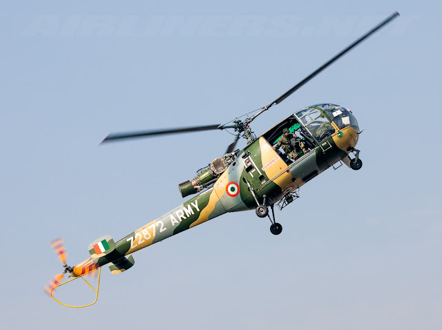 Hindustan SA-316B Chetak of Indian Army