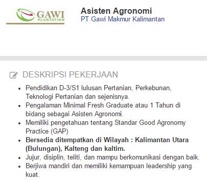 Lowongan Kerja Kota Samarinda Terbaru 2019.