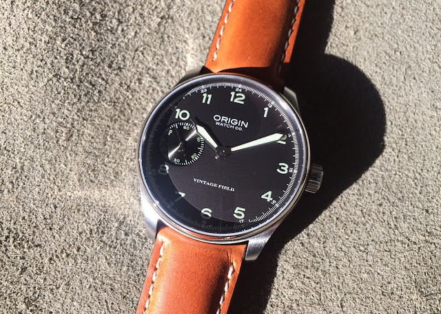 Origin Watch Company Field Watch 2nd Edition gray