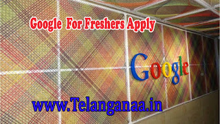 Google Recruitment 2016-2017 For Freshers Apply