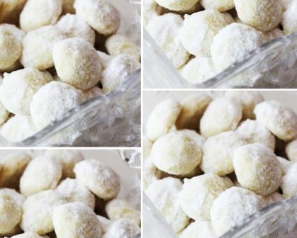 Resep Kue Putri Salju Spesial Tanpa Kacang