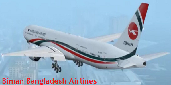 Bangkok Biman Bangladesh Airlines Sales Office in Thailand
