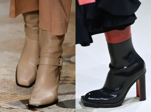 Winter 2019 Women's Boots Fashion Trends