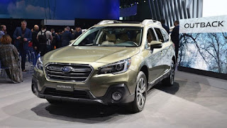 2018 Subaru Outback: Couleurs, changements, spécifications