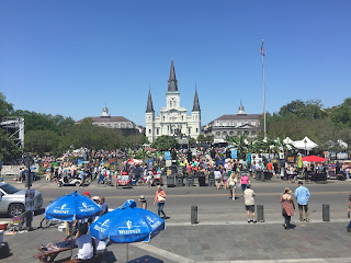 French Quarter Fest St. Louis Cathedral