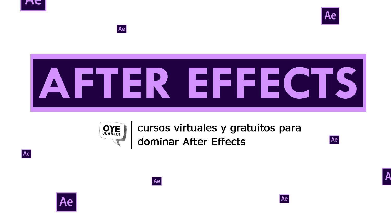 10 cursos online gratis de After Effects en todos los niveles | Oye ...