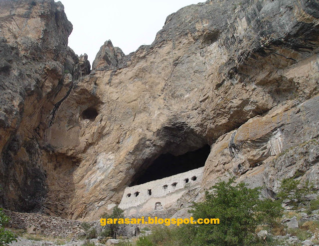 Η Παναγία της Γαράσαρης (Η Μονή της Θεοτόκου στο Καγιά-τιπι)