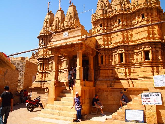 Jain Temples in Jaisalamer,Rajasthan