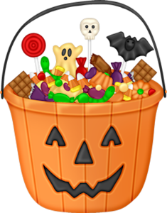 Halloween Candies Clipart. - Oh My Fiesta! in english
